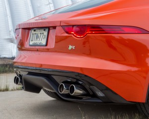 2015 Jaguar F-type R Coupe Exterior Rear Body