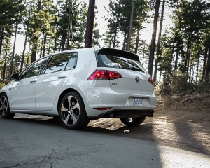 2015 Volkswagen GTI Exterior Rear and Side