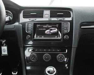 2015 Volkswagen GTI Interior Center Head Unit