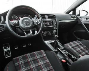 2015 Volkswagen GTI Interior Cockpit and Dash