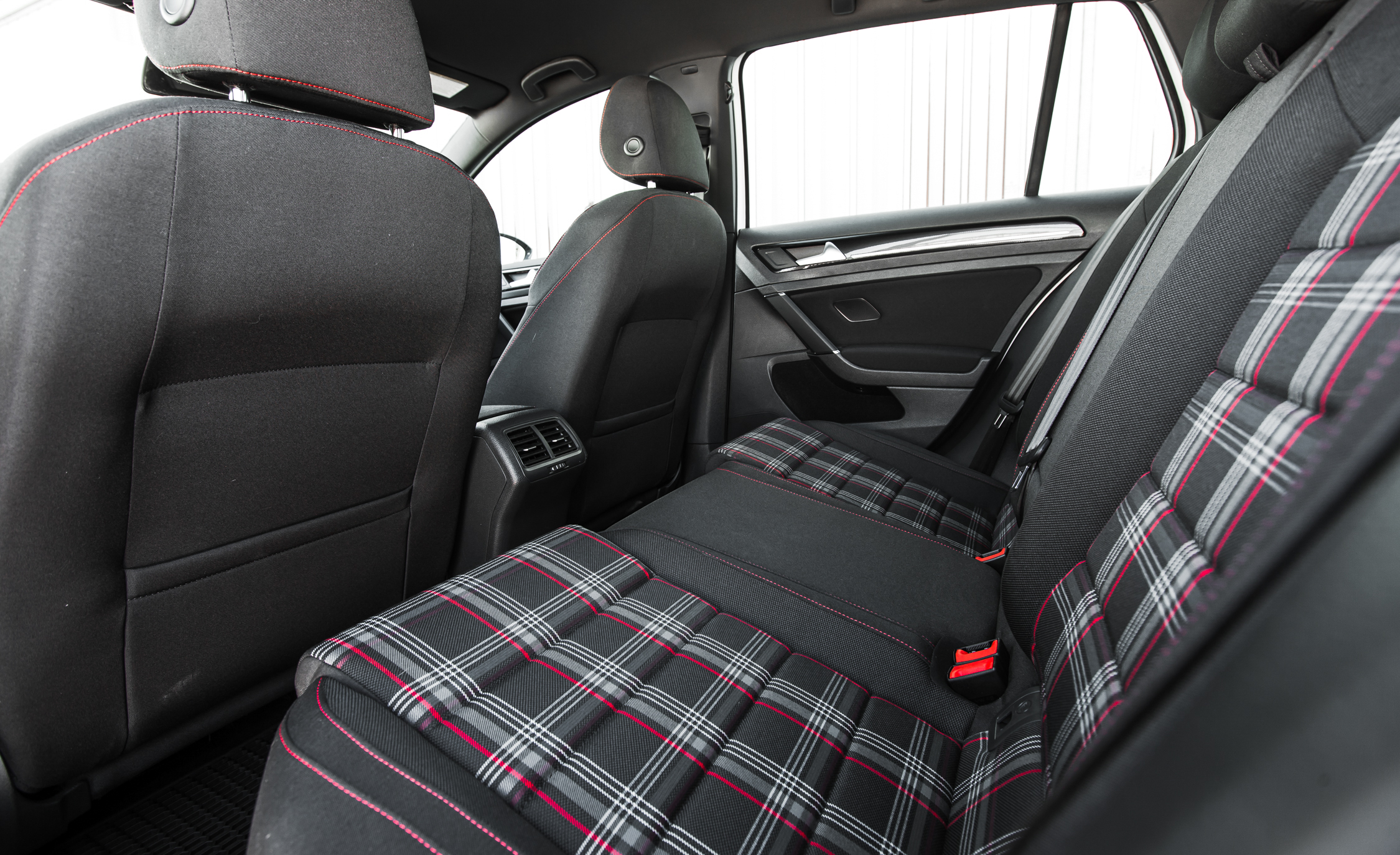 2015 Volkswagen GTI Interior Rear