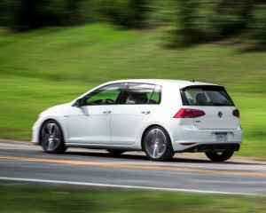 2015 Volkswagen GTI Test Rear and Side View