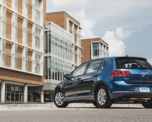 2015 Volkswagen Golf TSI Exterior Rear and Side