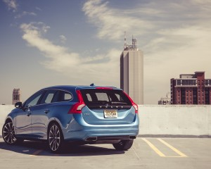2015 Volvo V60 Exterior Full Rear and Side