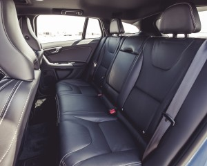 2015 Volvo V60 Interior Passenger Seats Rear