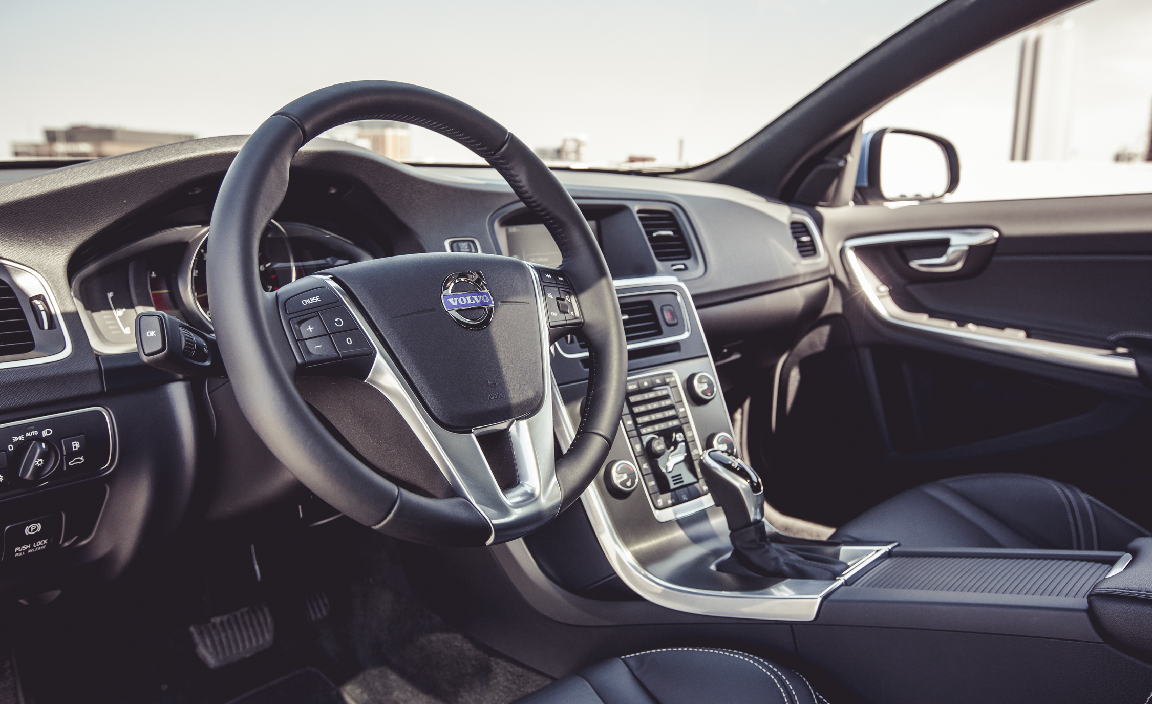 2015 Volvo V60 Interior Steering