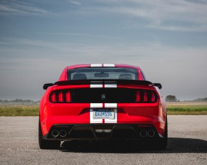2016 Ford Mustang Shelby GT350 Exterior Rear View