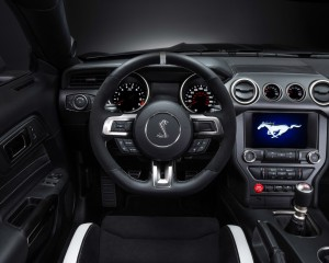 2016 Ford Mustang Shelby GT350R Cockpit and Speedometer