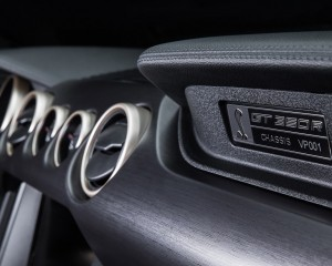 2016 Ford Mustang Shelby GT350R Dashboard Material