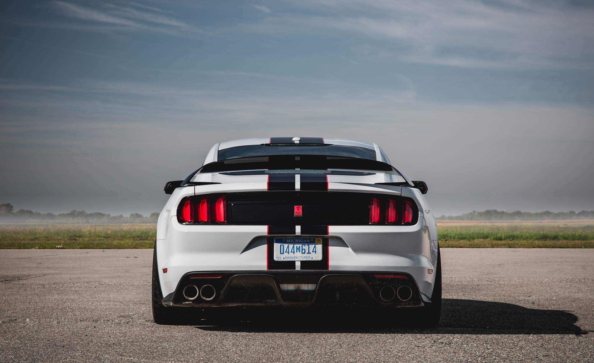 2016 ford mustang shelby gt350r exterior rear view 7858 cars performance reviews and test drive. Black Bedroom Furniture Sets. Home Design Ideas