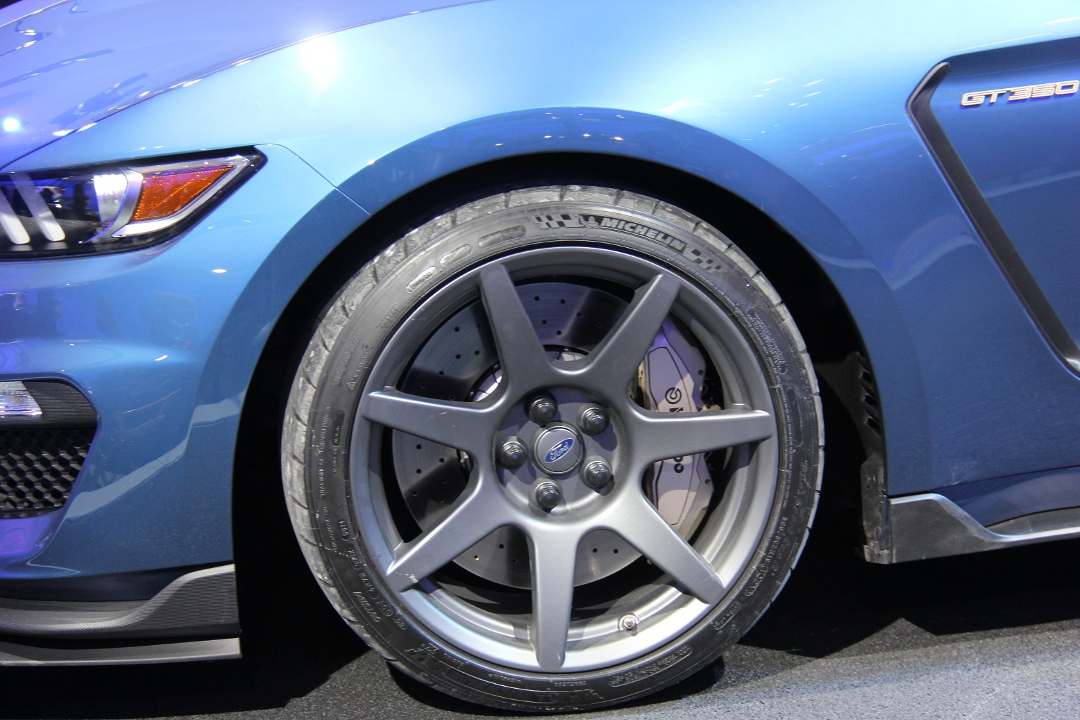 2016 Ford Mustang Shelby GT350R Velg and Wheel