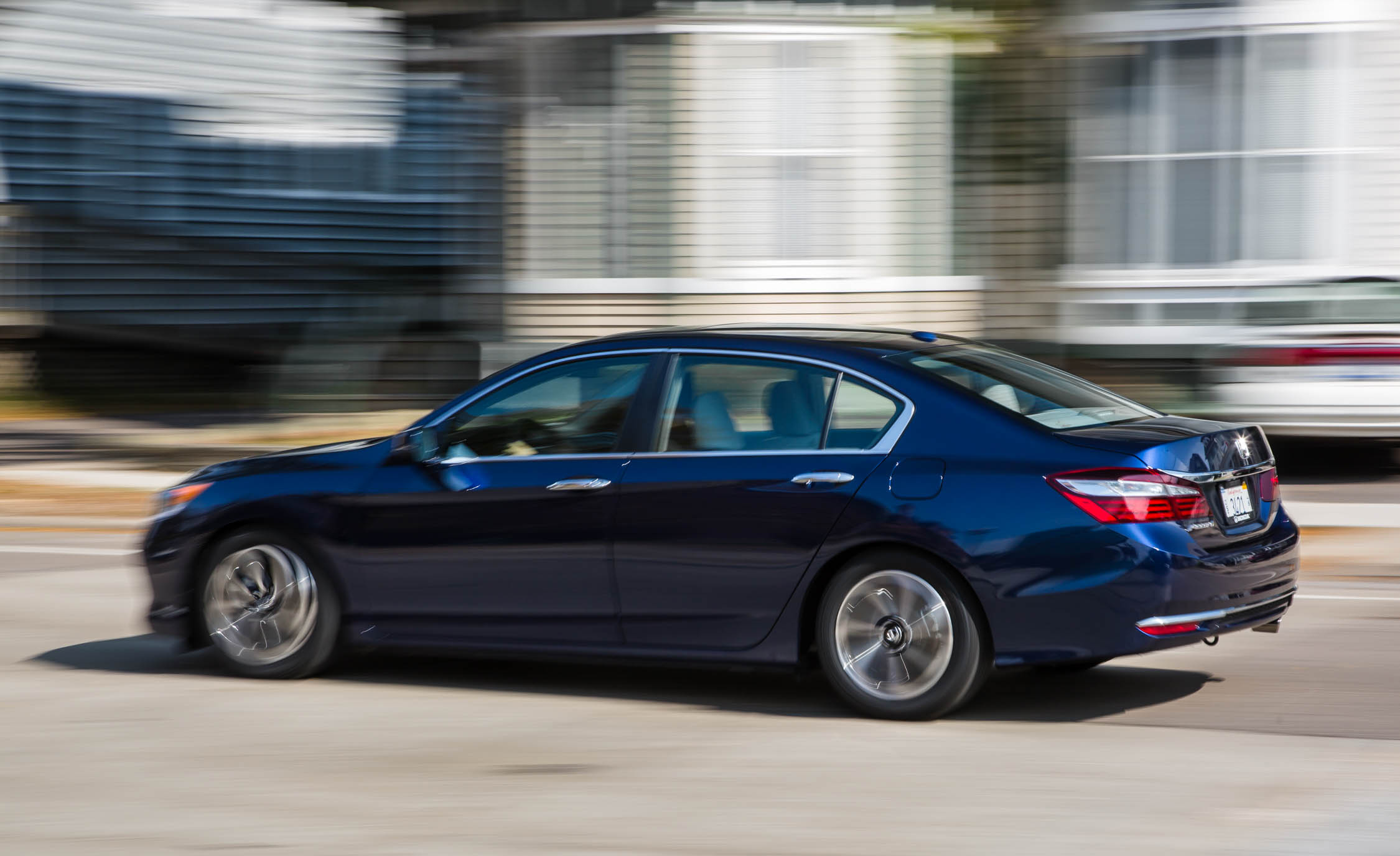2016 Honda Accord EX Test Side and Rear View