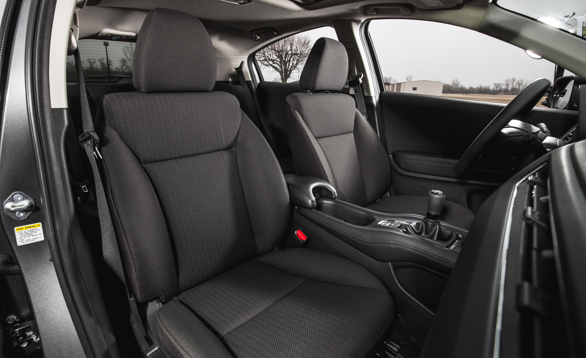 2016 Honda HR-V Interior Front Seats