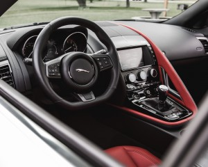 2016 Jaguar F-Type S Coupe Interior