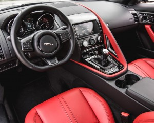 2016 Jaguar F-Type S Coupe Interior Cockpit