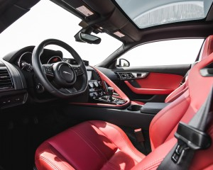 2016 Jaguar F-Type S Coupe Interior Cockpit Seat