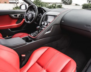 2016 Jaguar F-Type S Coupe Interior Passenger Dash