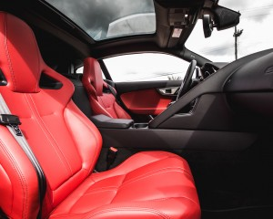 2016 Jaguar F-Type S Coupe Interior Passenger Seats