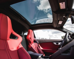 2016 Jaguar F-Type S Coupe Interior Sun Roof