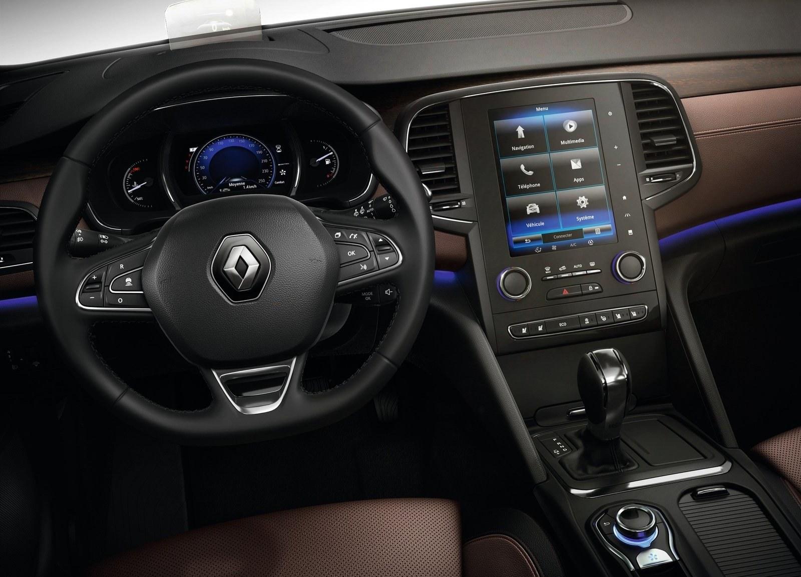 2016 Renault Talisman Cockpit and Dashboard