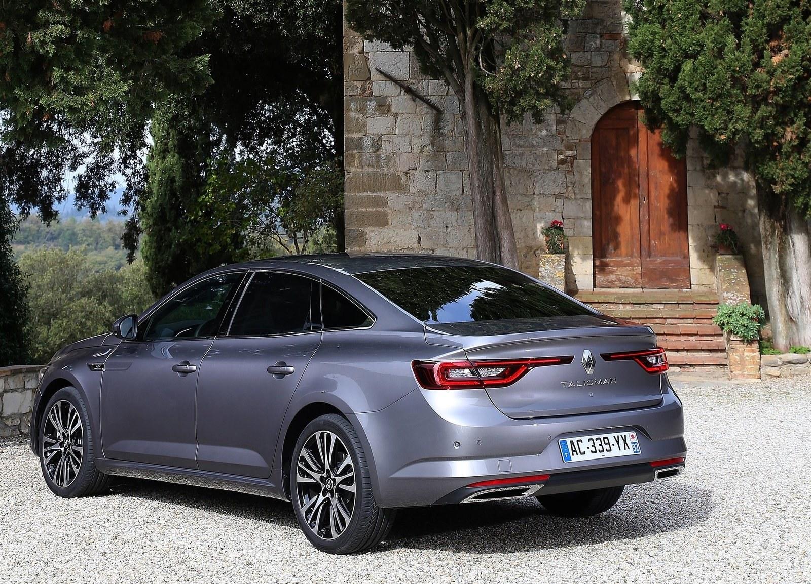 2016 Renault Talisman Rear Side Body