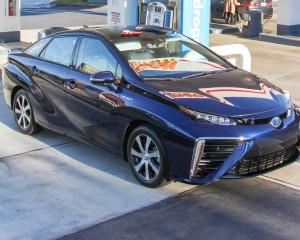 2016 Toyota Mirai Blue Metallic