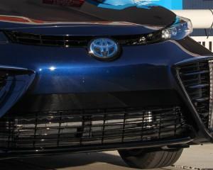 2016 Toyota Mirai Blue Metallic Grille