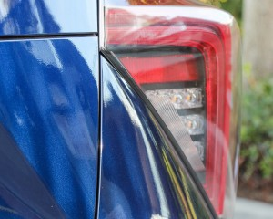 2016 Toyota Mirai Blue Metallic Taillight