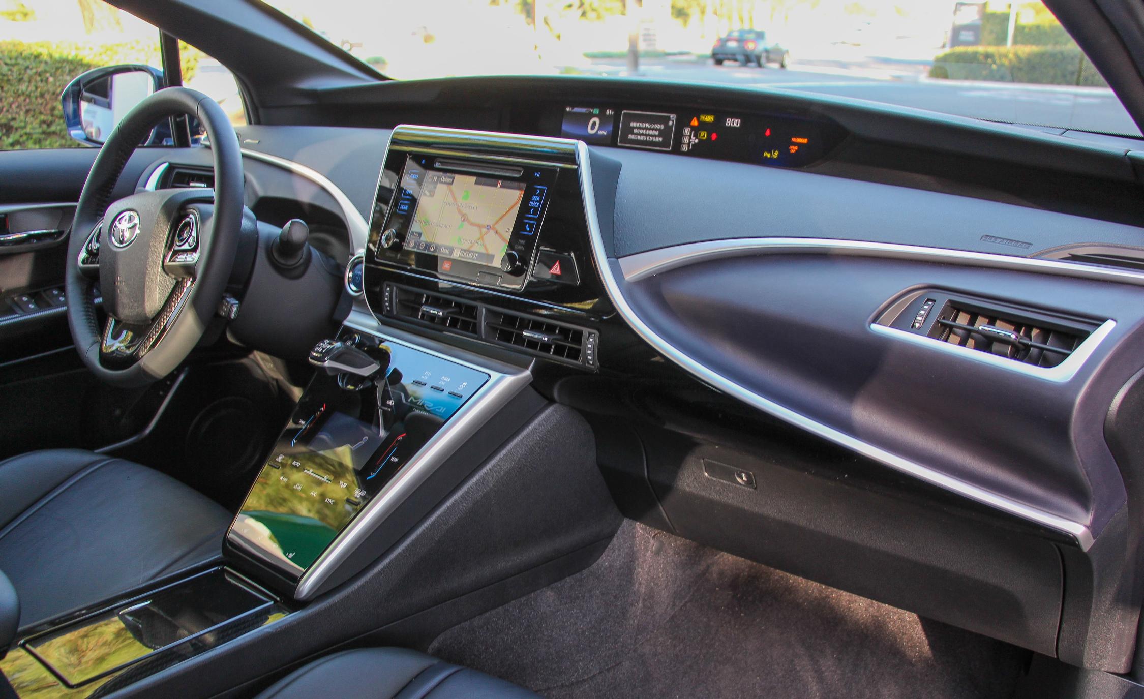 2016 Toyota Mirai Interior Dashboard