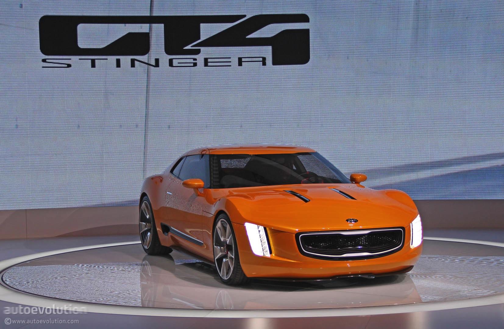 kia gt4 stinger concept 5886 cars performance reviews and test drive. Black Bedroom Furniture Sets. Home Design Ideas