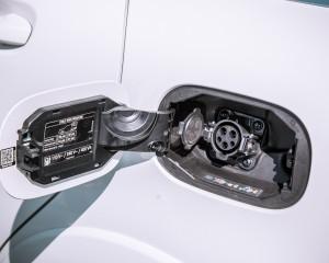2014 Mercedes-Benz B-Class Exterior Charging Port