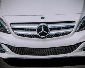 2014 Mercedes-Benz B-Class Exterior Grille and Headlamp