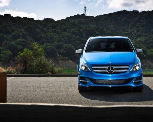2014 Mercedes-Benz B-class Electric Drive Exterior Front End