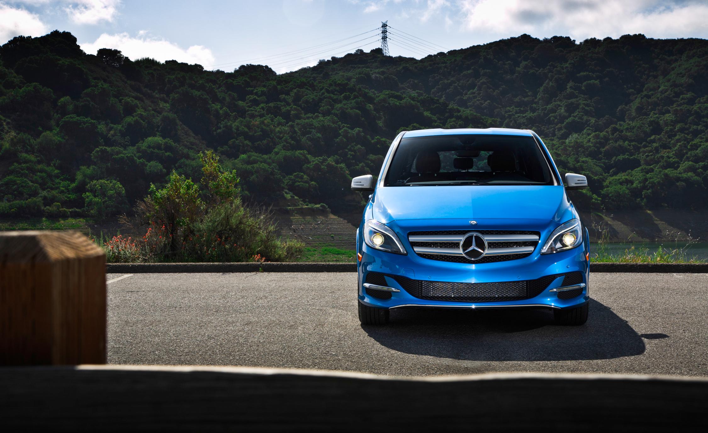 2014 Mercedes-Benz B-class Electric Drive Exterior Front End