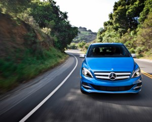 2014 Mercedes-Benz B-class Electric Drive Exterior Front View