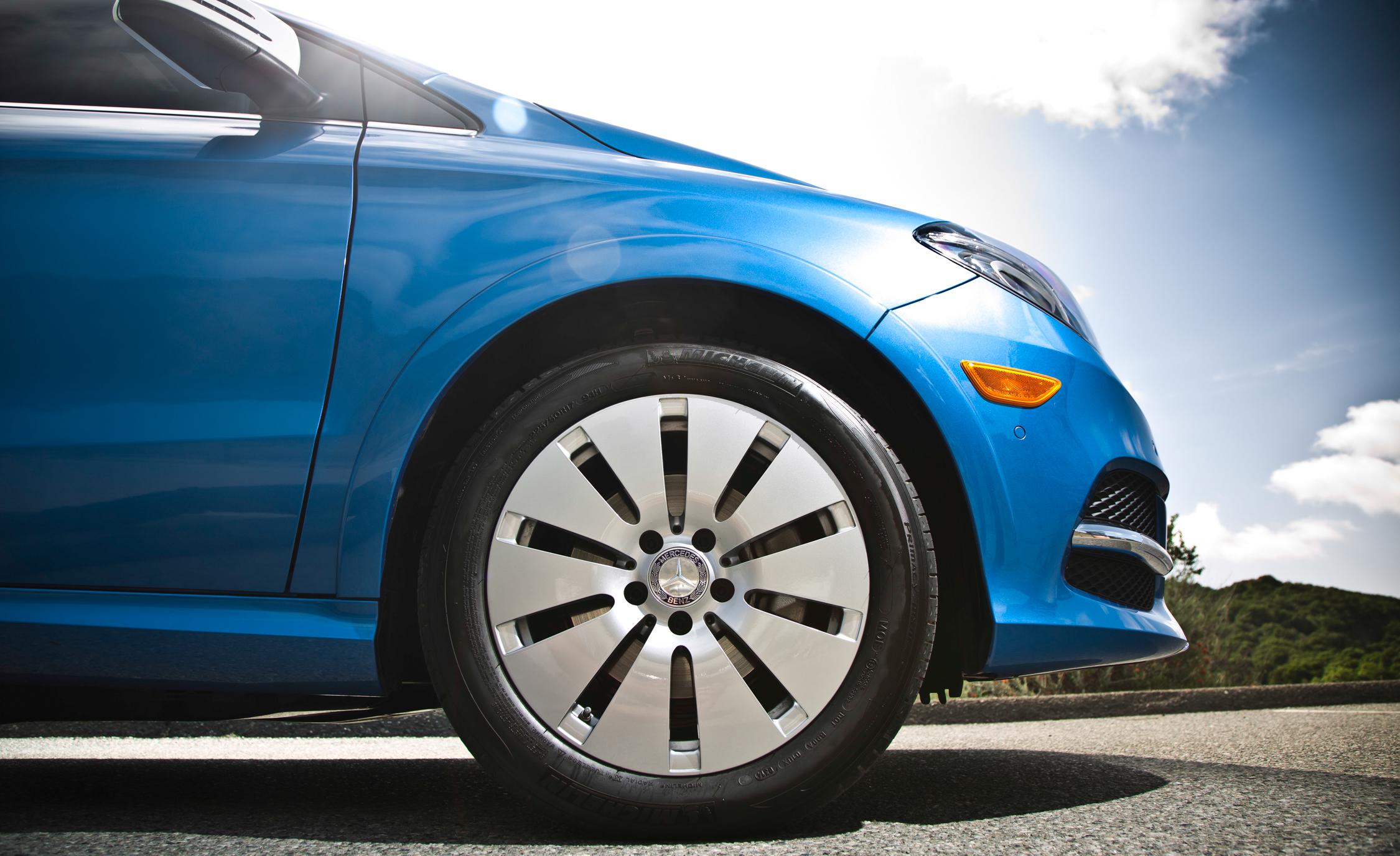 2014 Mercedes-Benz B-class Electric Drive Exterior Wheel