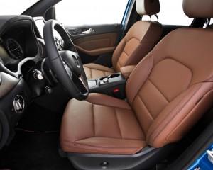 2014 Mercedes-Benz B-class Electric Drive Interior Front Seats