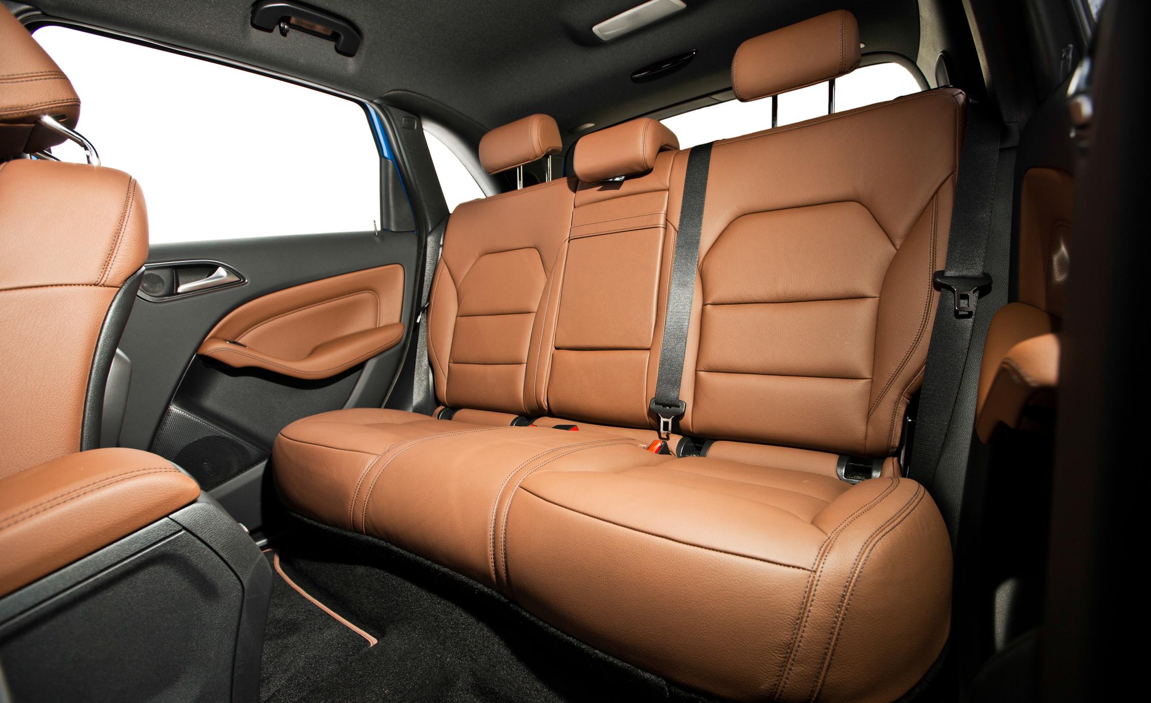 2014 Mercedes-Benz B-class Electric Drive Interior Rear Seats