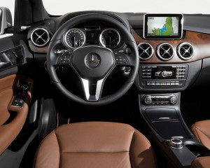2014 Mercedes-Benz B-class Electric Drive Interior Steering Wheel