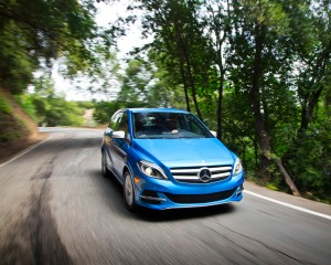 2014 Mercedes-Benz B-class Electric Drive Peformance