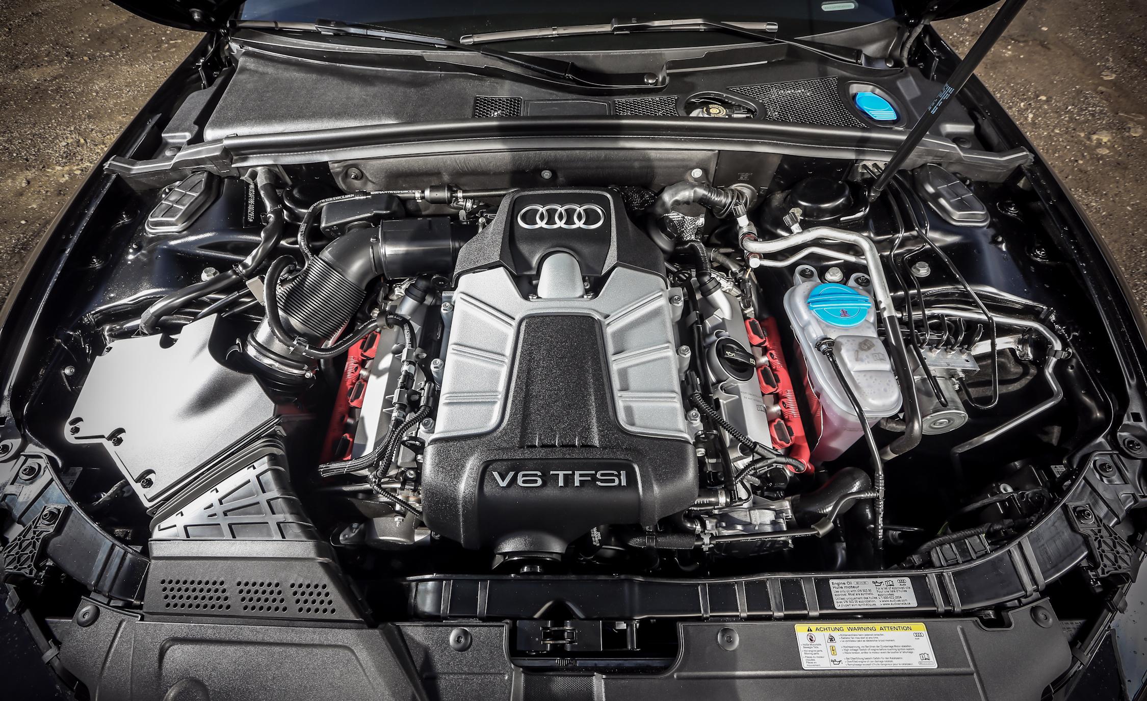 2015 Audi S5 Supercharged 3.0-Liter V-6 Engine