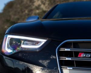 2015 Audi S5 Headlamp Close Up