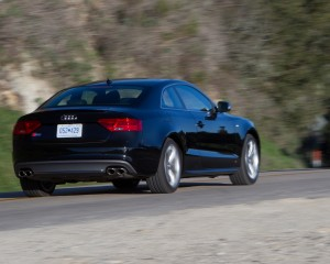 2015 Audi S5 Rear Exterior Preview