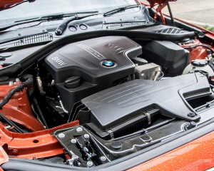 2015 BMW 125i Engine