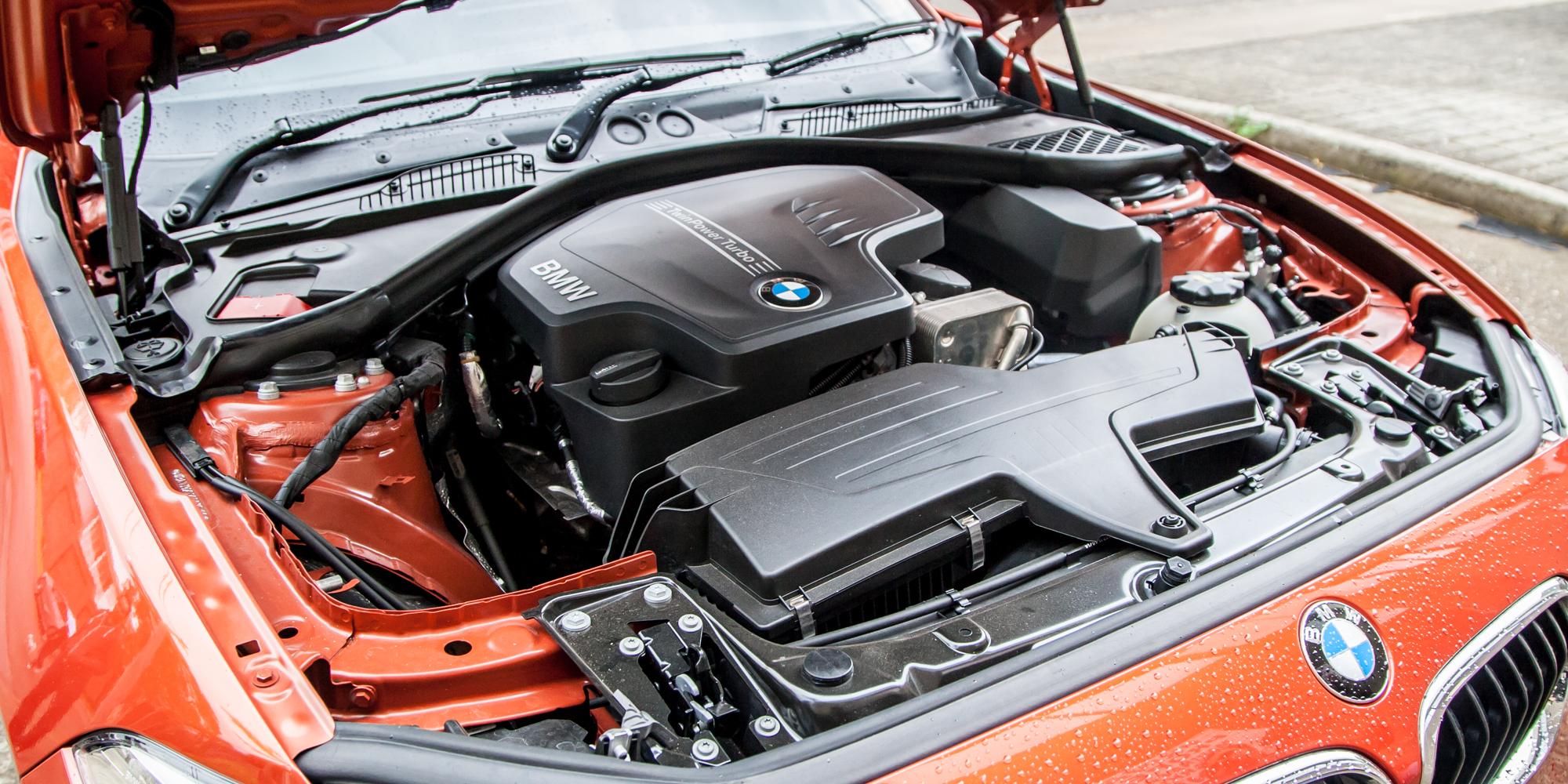 2015 BMW 125i Engine