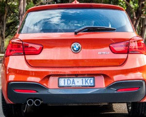 2015 BMW 125i Rear End