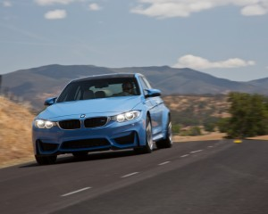 2015 BMW M3 Front Exterior