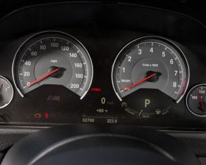 2015 BMW M3 Speedometer
