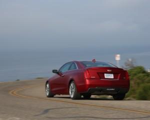 2015 Cadillac ATS Coupe 3.6 Rear Design