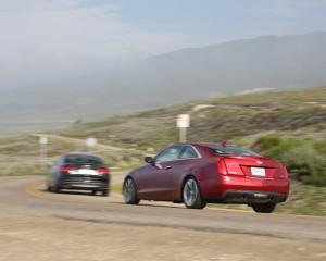 2015 Cadillac ATS Coupe 3.6 Rear Exterior